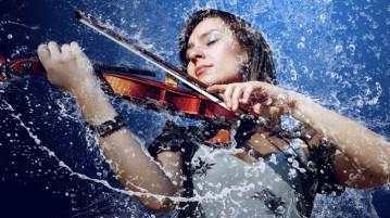 Violin-Bath